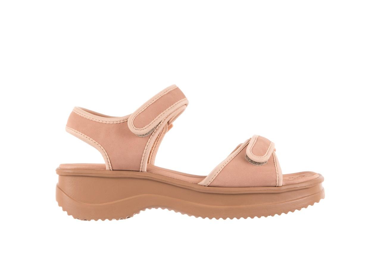 Sandały azaleia 320 750 nobuck nude, beż, materiał  - azaleia - nasze marki 6