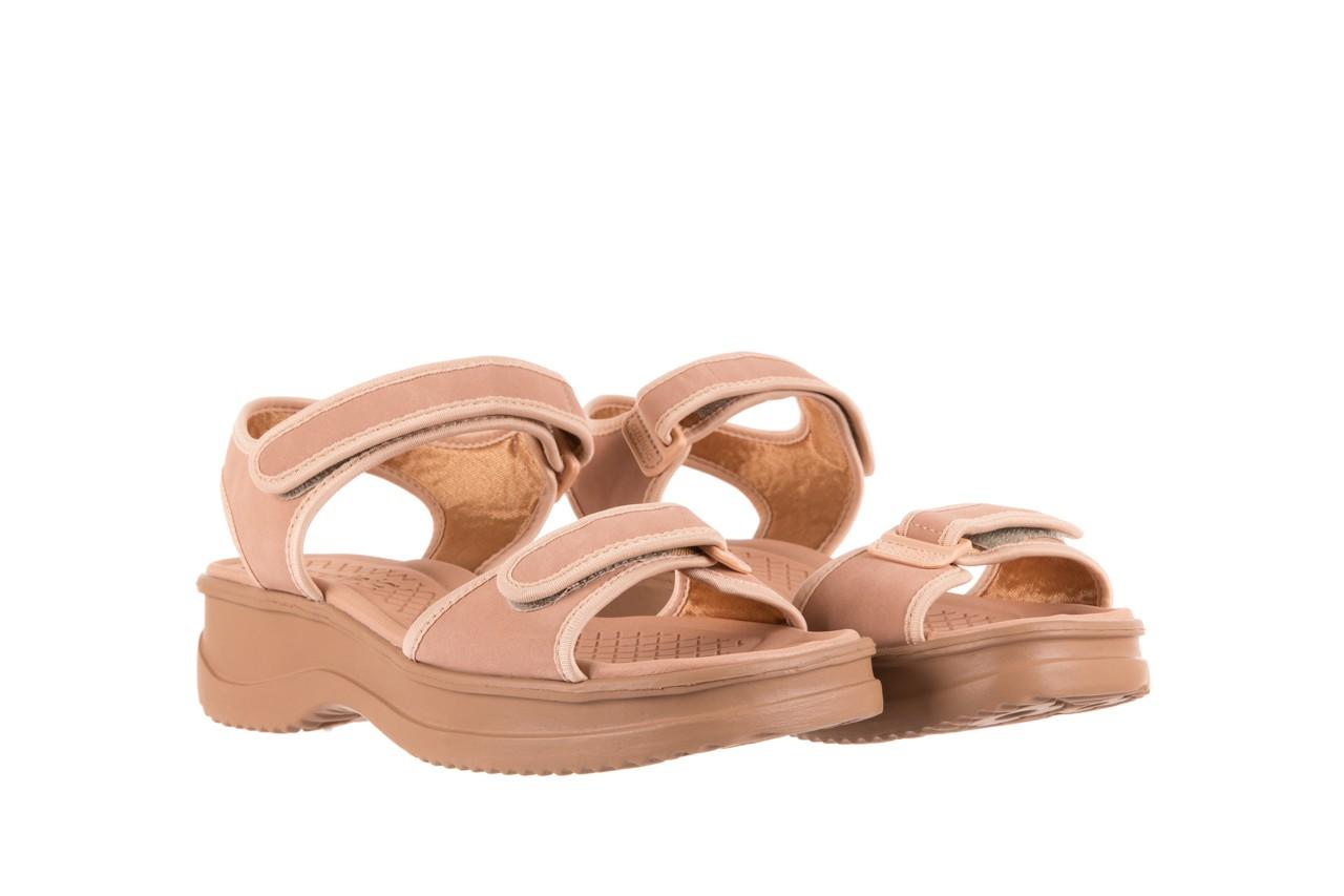 Sandały azaleia 320 750 nobuck nude, beż, materiał  - azaleia - nasze marki 7