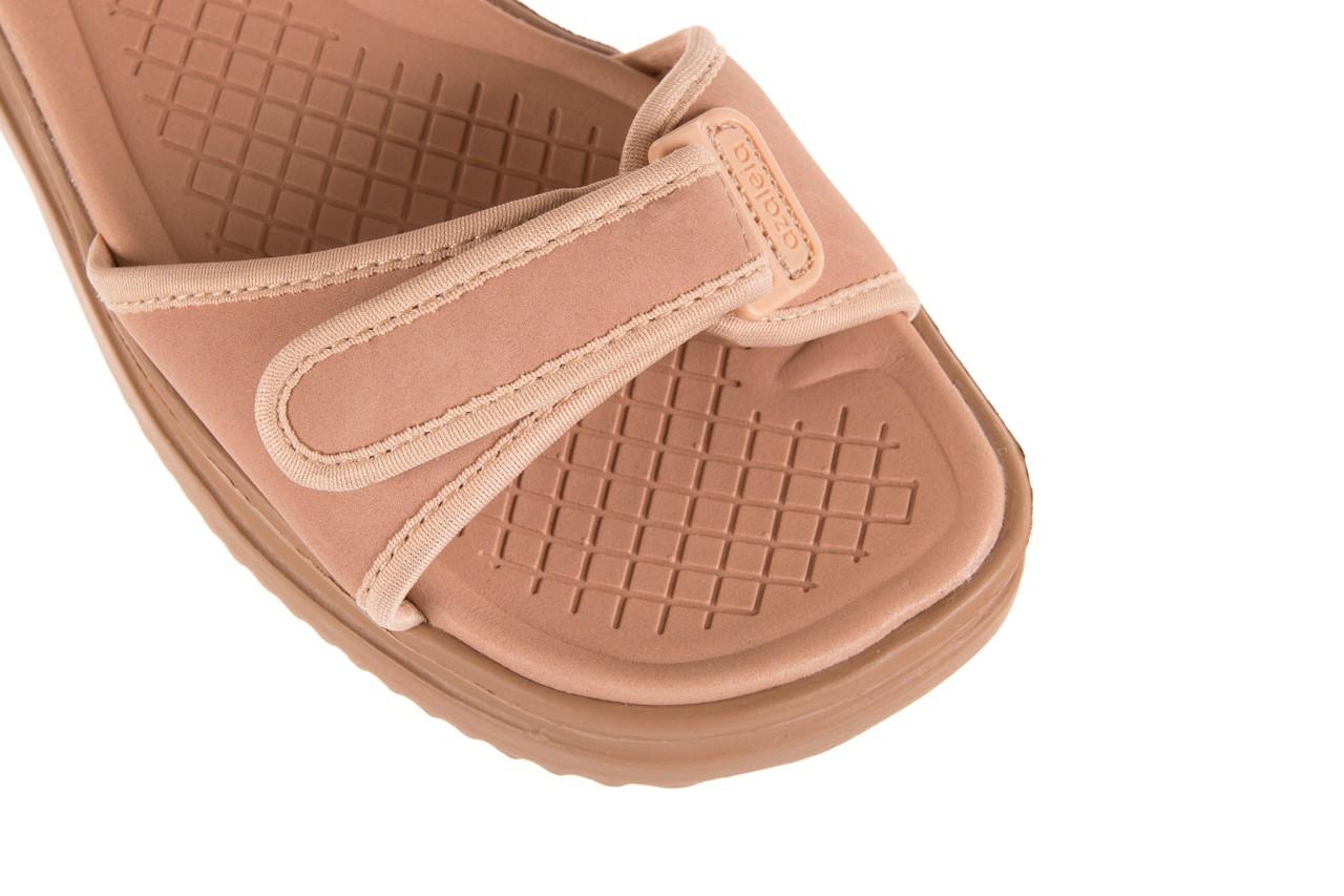 Sandały azaleia 320 750 nobuck nude, beż, materiał  - azaleia - nasze marki 11
