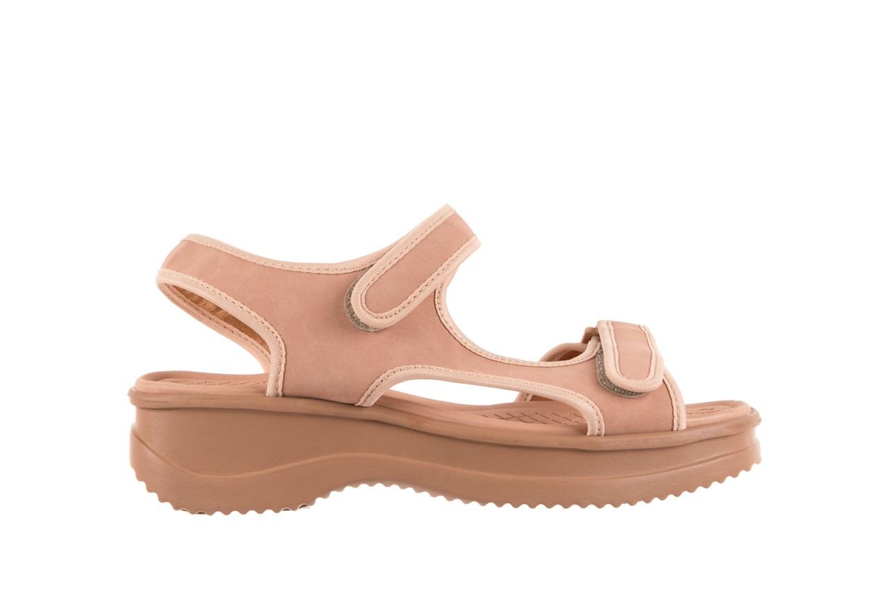 Sandały azaleia 320 751 nobuck nude, beż, materiał  - azaleia - nasze marki 6