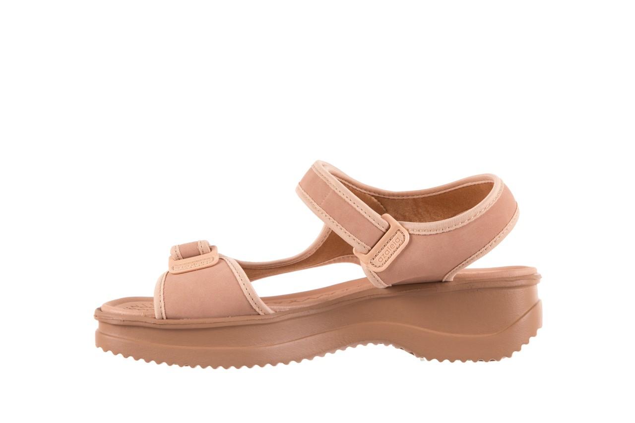 Sandały azaleia 320 751 nobuck nude, beż, materiał  - azaleia - nasze marki 8