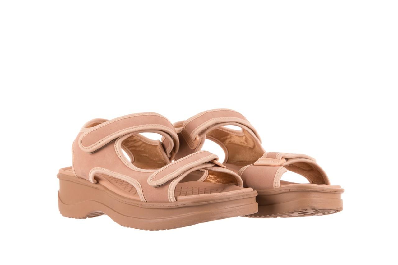 Sandały azaleia 320 751 nobuck nude, beż, materiał  - azaleia - nasze marki 7