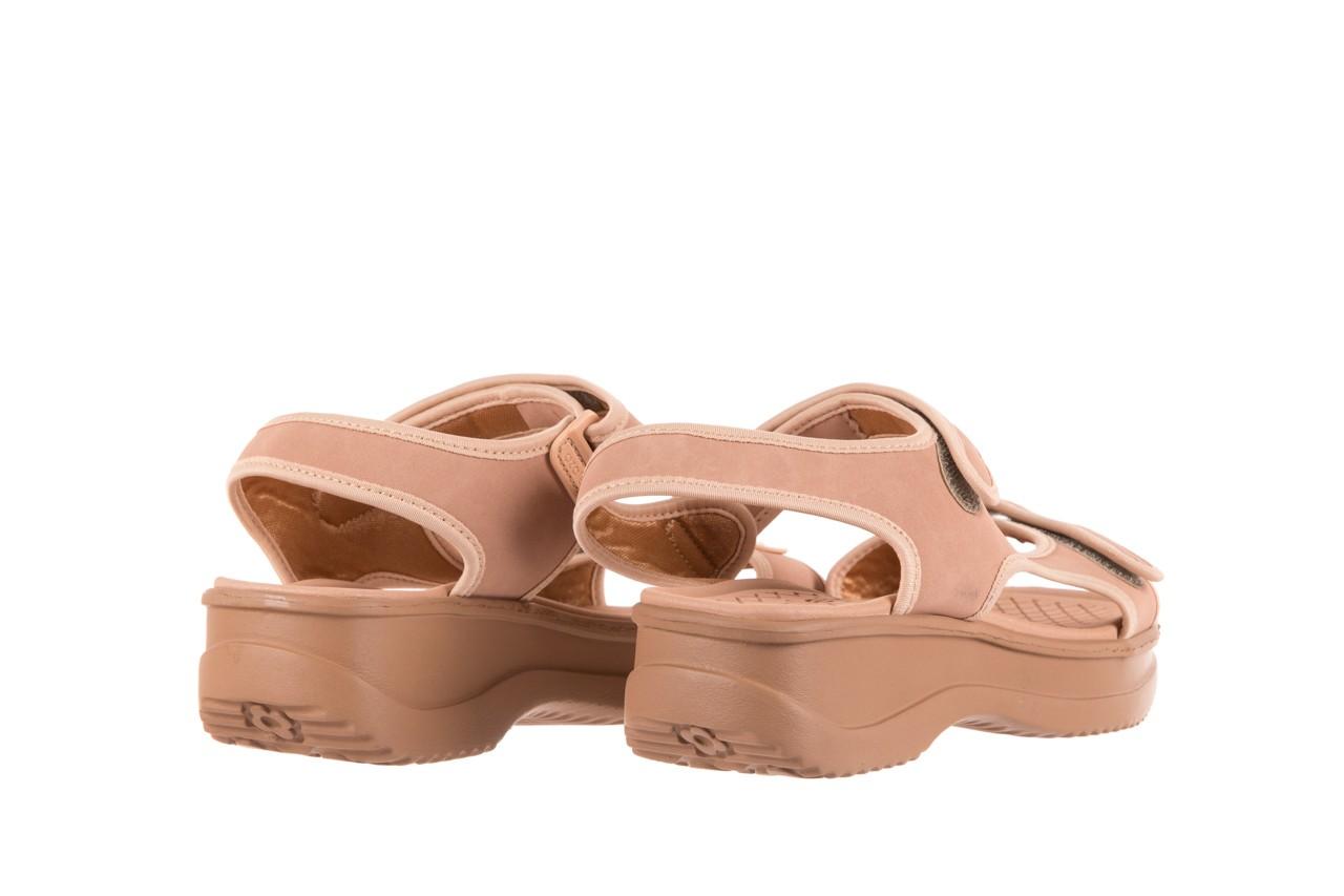 Sandały azaleia 320 751 nobuck nude, beż, materiał  - azaleia - nasze marki 9