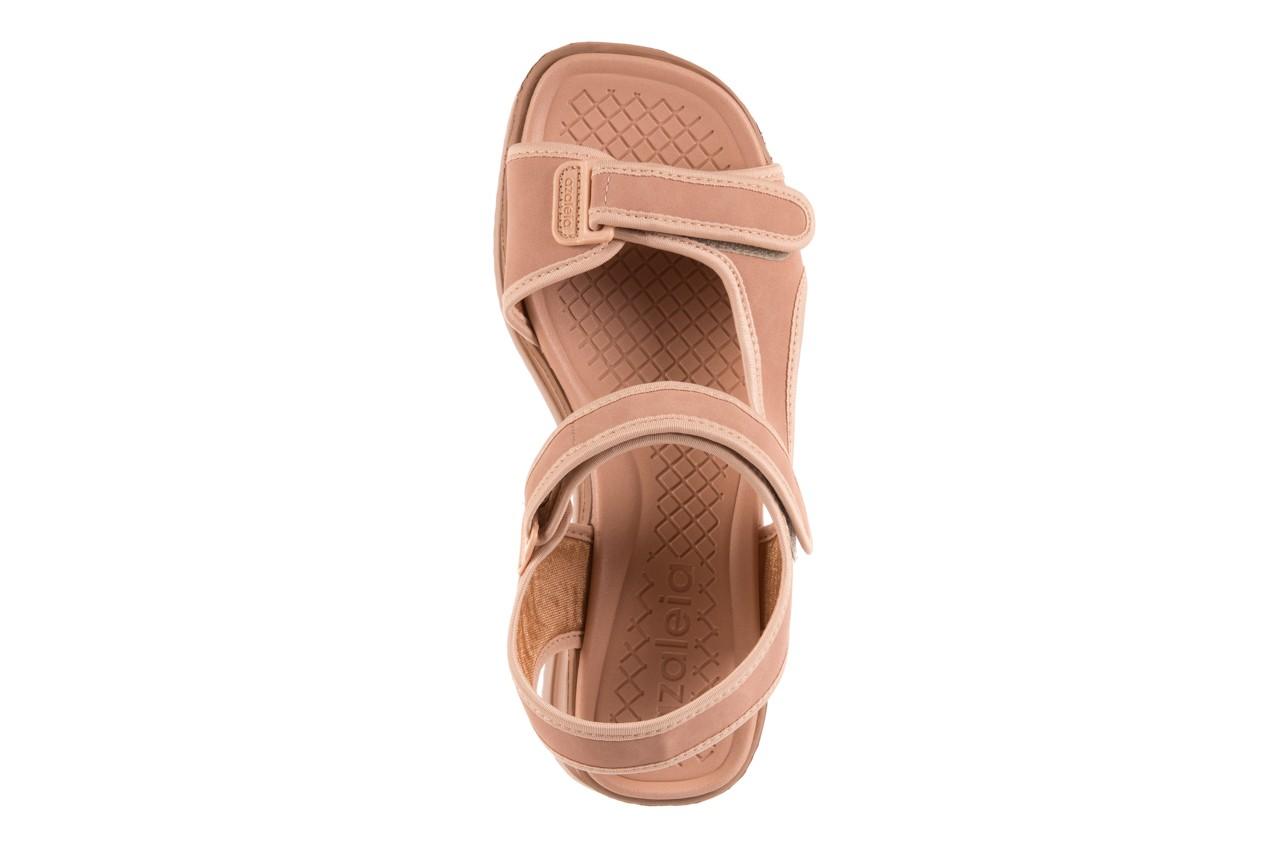 Sandały azaleia 320 751 nobuck nude, beż, materiał  - azaleia - nasze marki 10