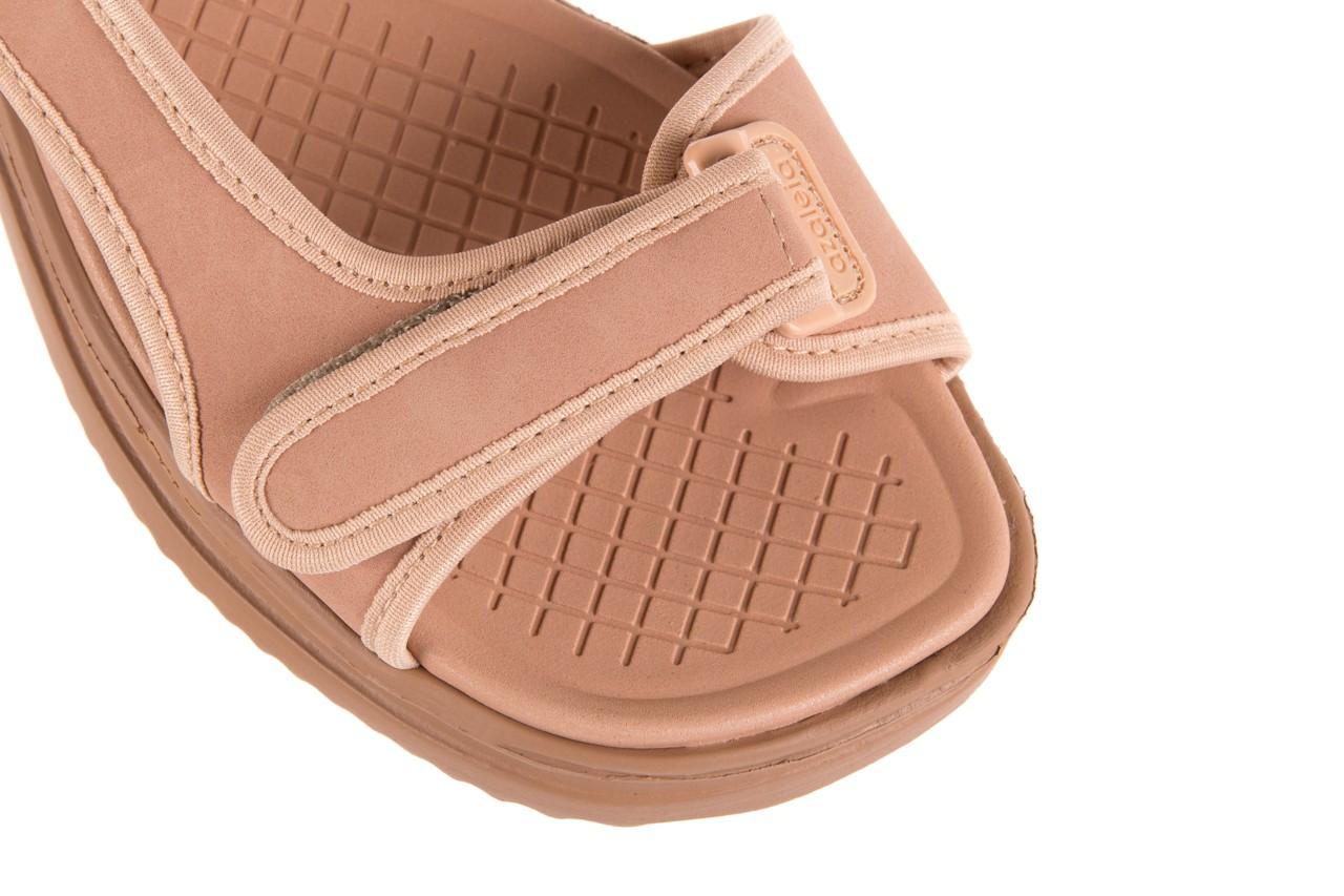 Sandały azaleia 320 751 nobuck nude, beż, materiał  - azaleia - nasze marki 11