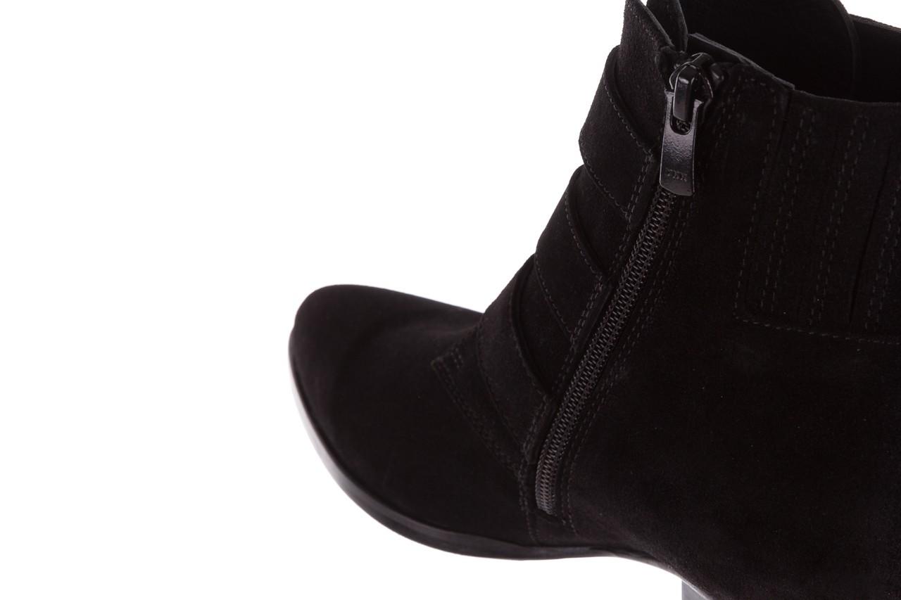 Botki bayla-177 b19117 czarne botki, skóra naturalna - dla niej  - sale 18