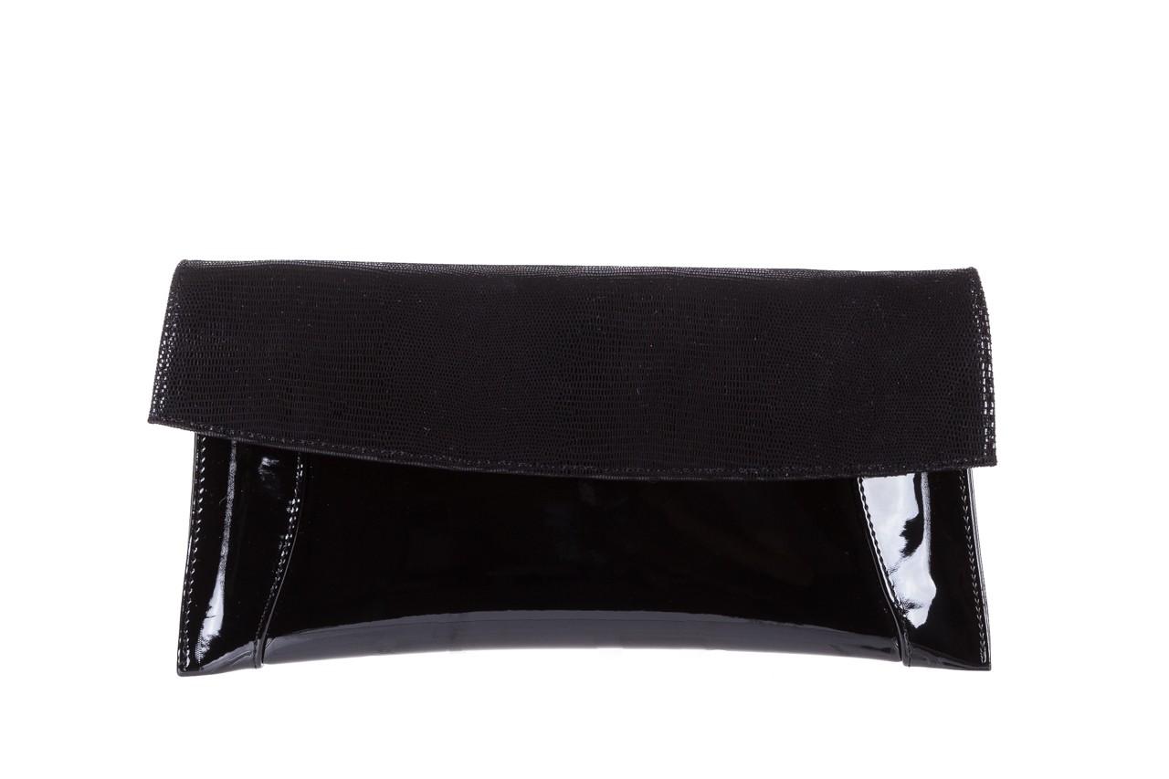 Torebka bayla-097 torebka koperta sandra czarny-lakier-czarny tejus, skóra naturalna lakierowana - halloween do -30% 4
