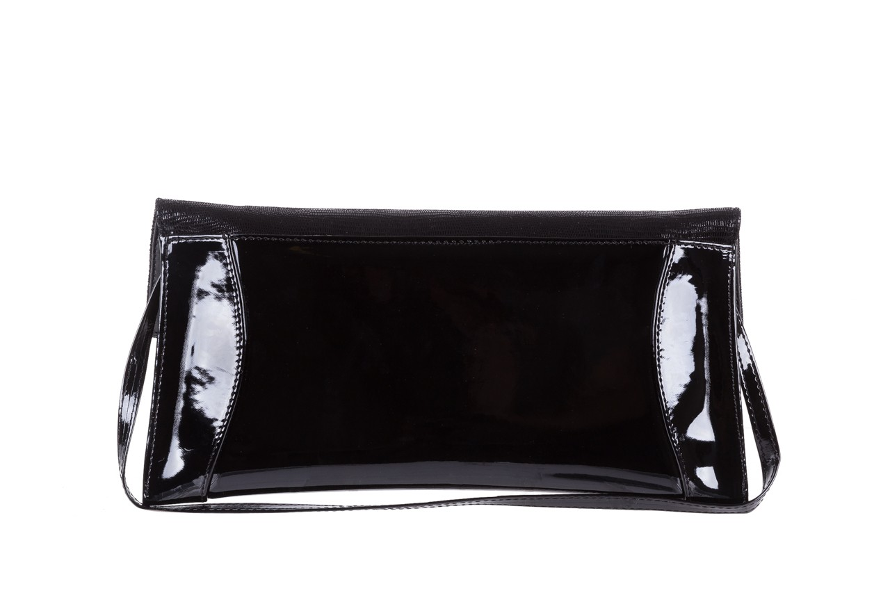 Torebka bayla-097 torebka koperta sandra czarny-lakier-czarny tejus, skóra naturalna lakierowana - halloween do -30% 7