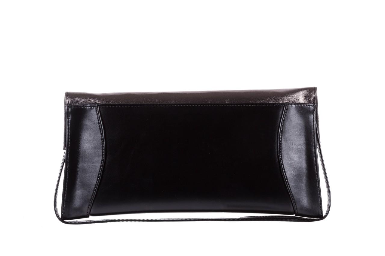 Torebka bayla-097 torebka koperta sandra czarno-srebrna, skóra naturalna  - akcesoria - kobieta 7