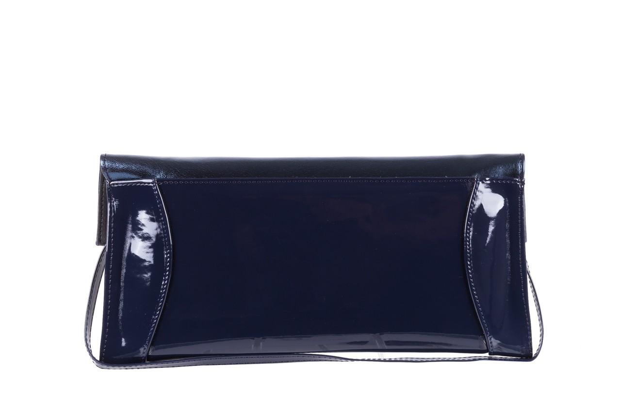 Torebka bayla-097 torebka koperta sandra granat-granat metallic, skóra naturalna lakierowana - bayla - nasze marki 7