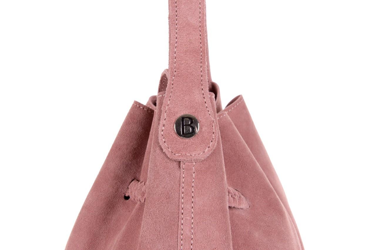 Bayla-125 skórzany worek prato pudrowy róż - bayla - nasze marki 10