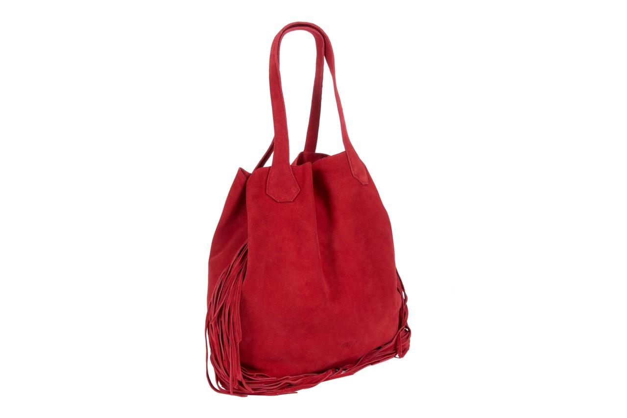 Bayla-125 torebka skórzana katania czerwona - bayla - nasze marki 6
