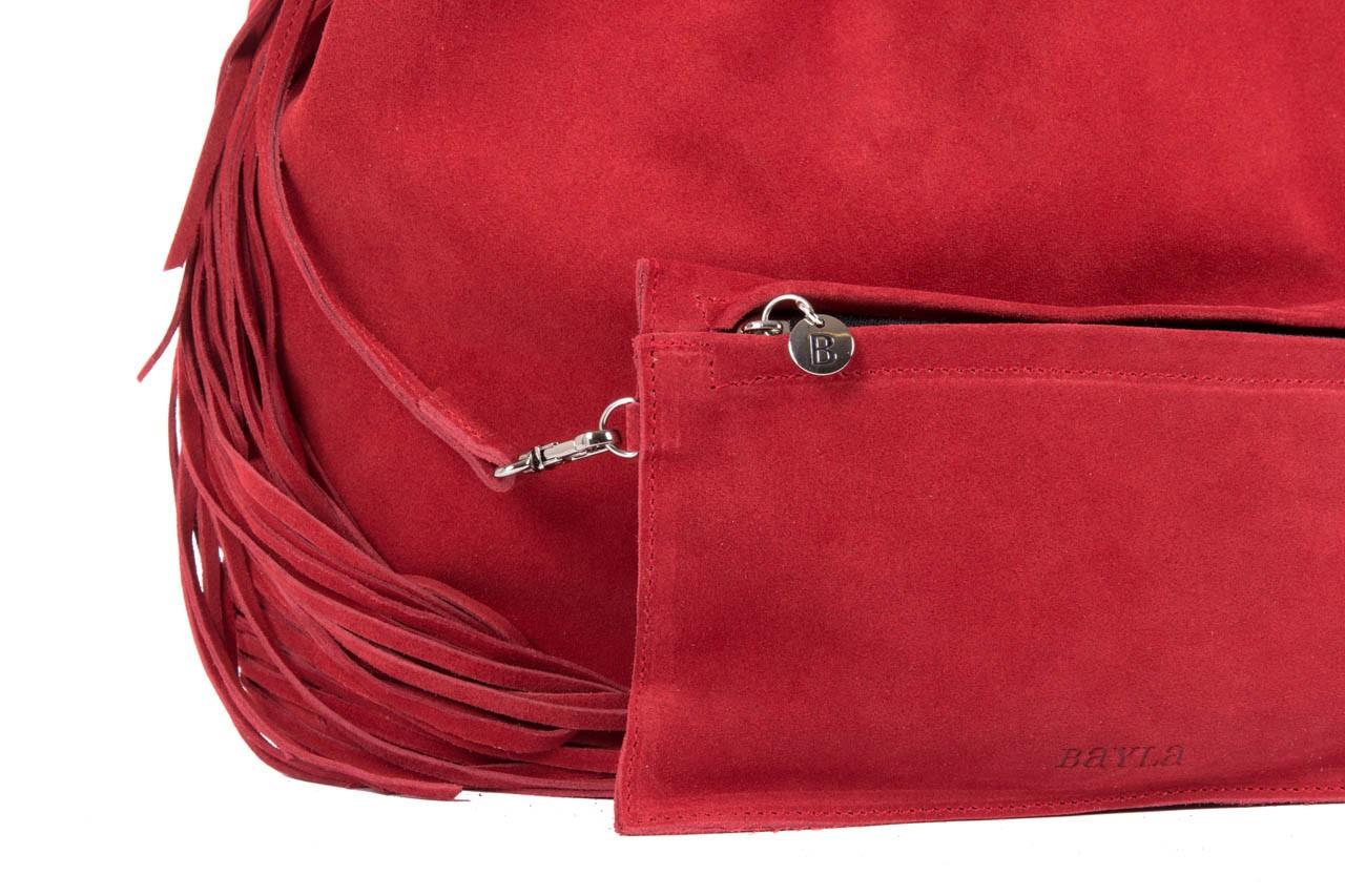 Bayla-125 torebka skórzana katania czerwona - bayla - nasze marki 8