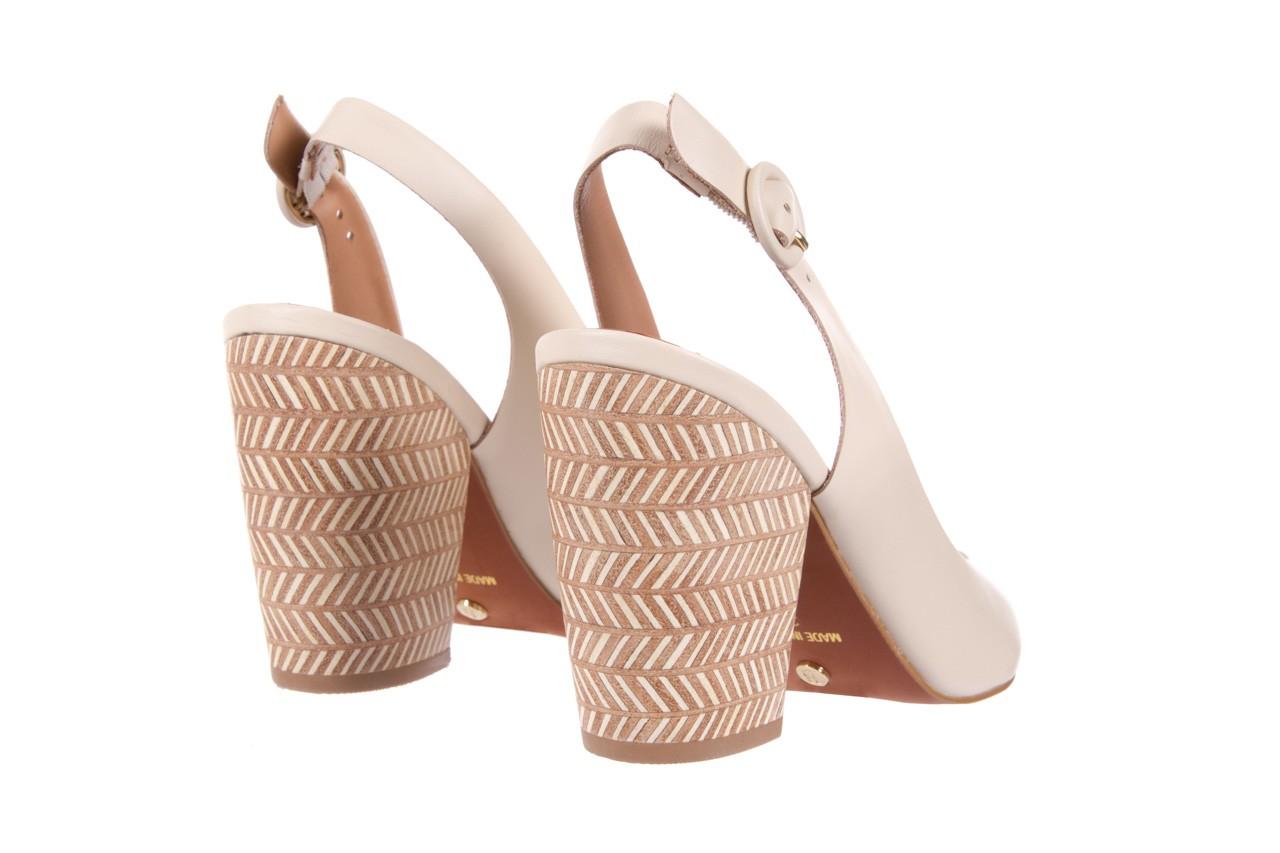 Sandały bayla-067 113216 vegatal vanilla, beż, skóra naturalna  - bayla - nasze marki 10
