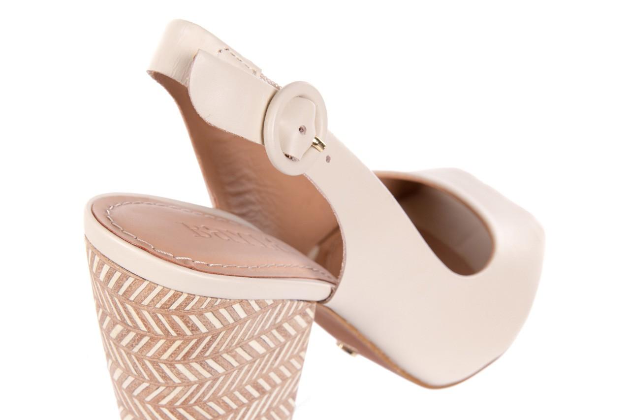 Sandały bayla-067 113216 vegatal vanilla, beż, skóra naturalna  - bayla - nasze marki 12