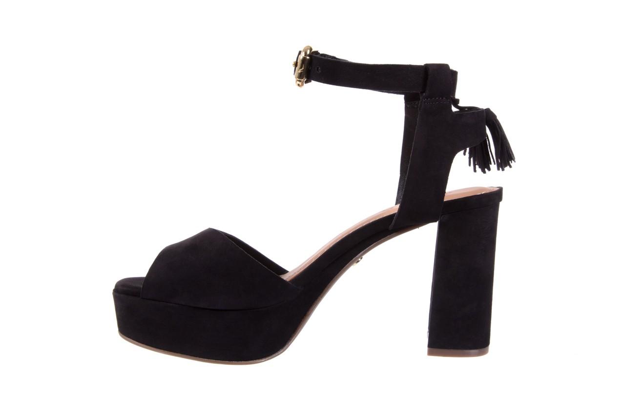 Sandały bayla-067 129006 nobuck black, czarny, skóra naturalna  - na platformie - sandały - buty damskie - kobieta 9