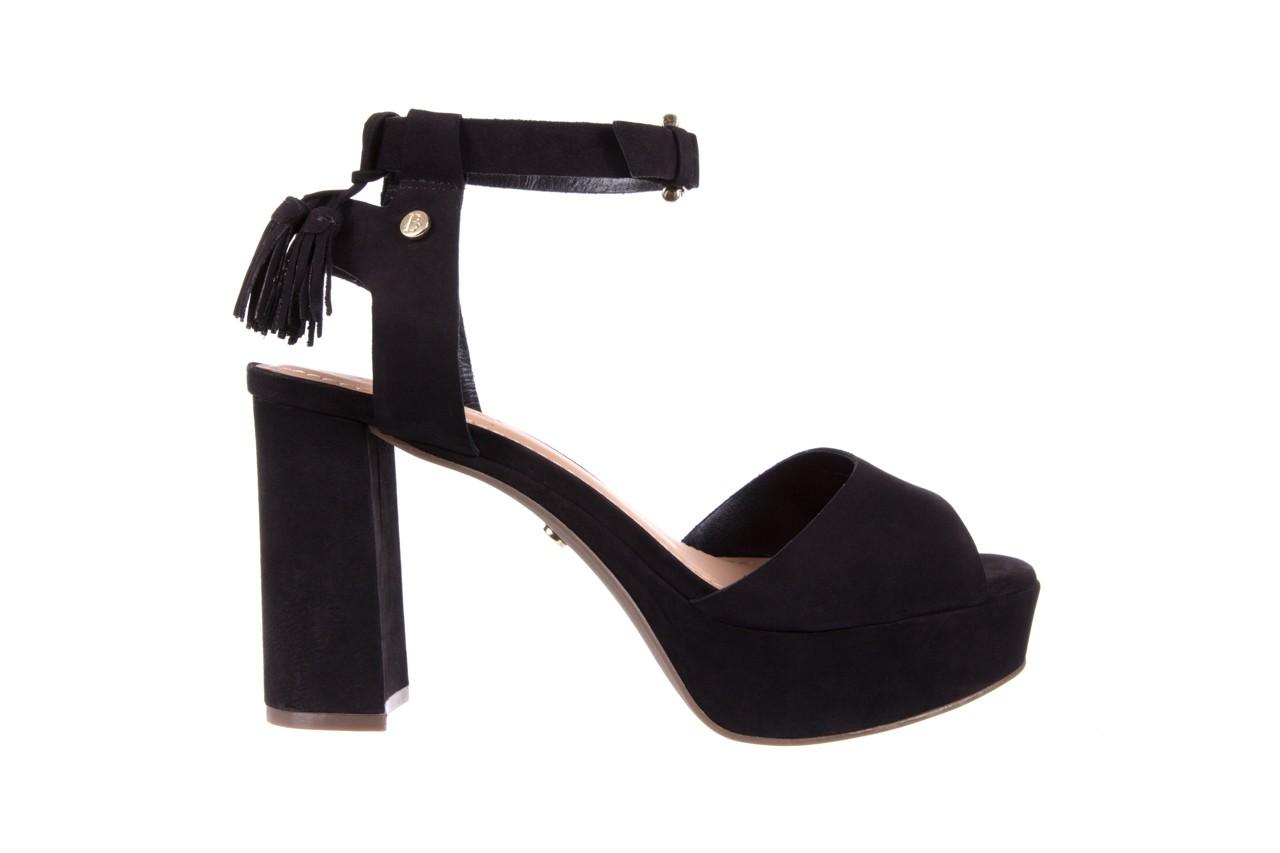 Sandały bayla-067 129006 nobuck black, czarny, skóra naturalna  - na platformie - sandały - buty damskie - kobieta 7