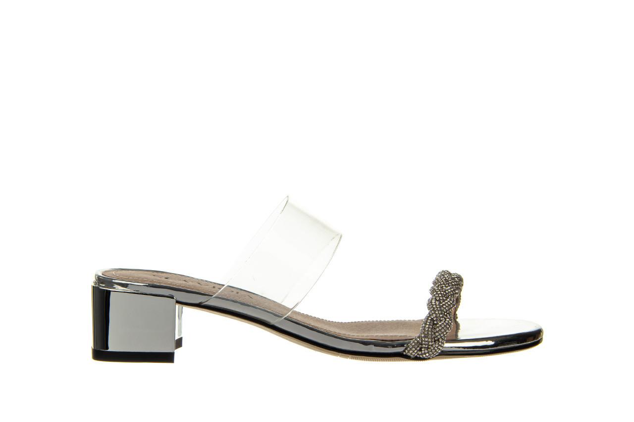 Klapki sca'viola b-205 silver 047180, srebro, silikon - klapki - buty damskie - kobieta 10