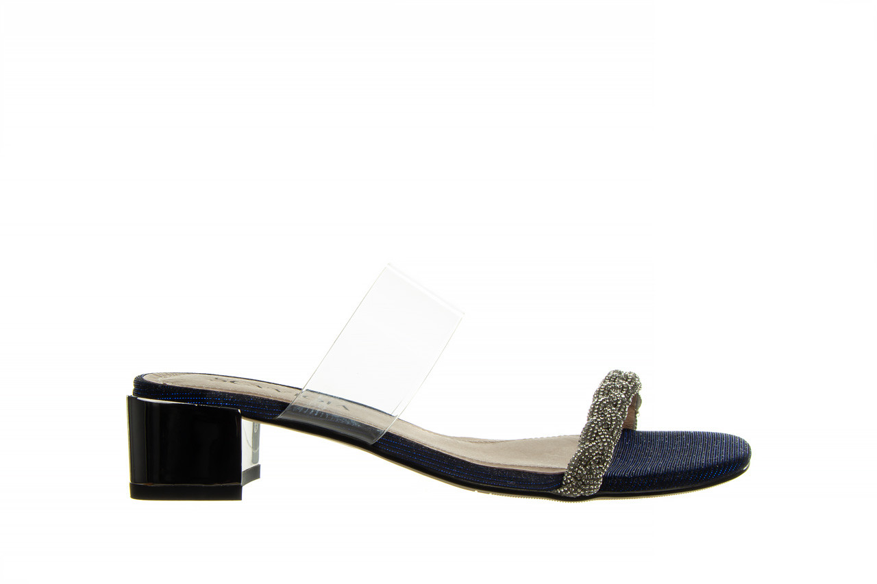 Klapki sca'viola b-204 d blue 047179, granat, silikon  - klapki - buty damskie - kobieta 10