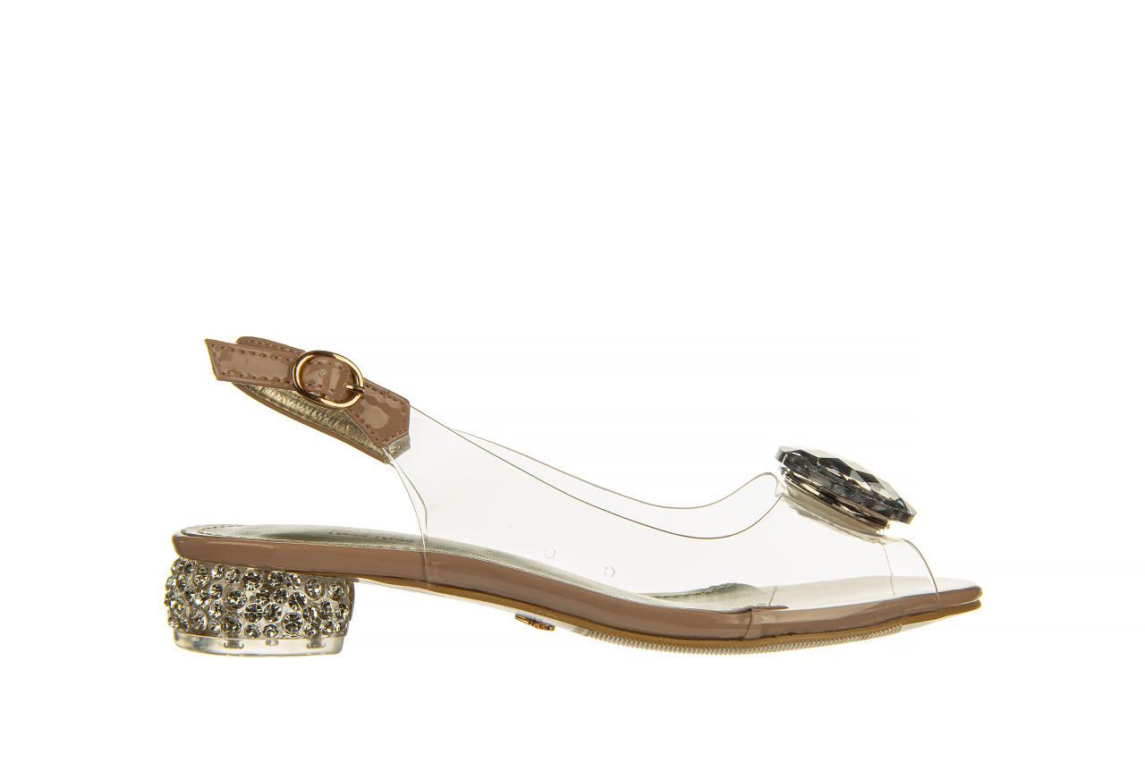 Sandały sca'viola g-15 l pink 21 047182, róż, silikon - na obcasie - sandały - buty damskie - kobieta 10