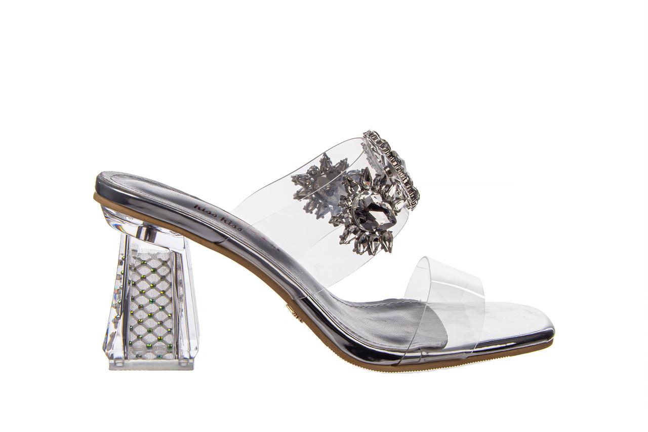 Klapki sca'viola g-58 silver 047188, srebro, silikon  - klapki - buty damskie - kobieta 9