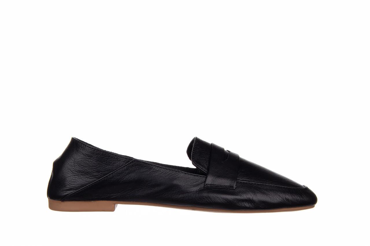 Półbuty bayla-161 138 4060 black 161222, czarny, skóra naturalna  - wsuwane - półbuty - buty damskie - kobieta 8