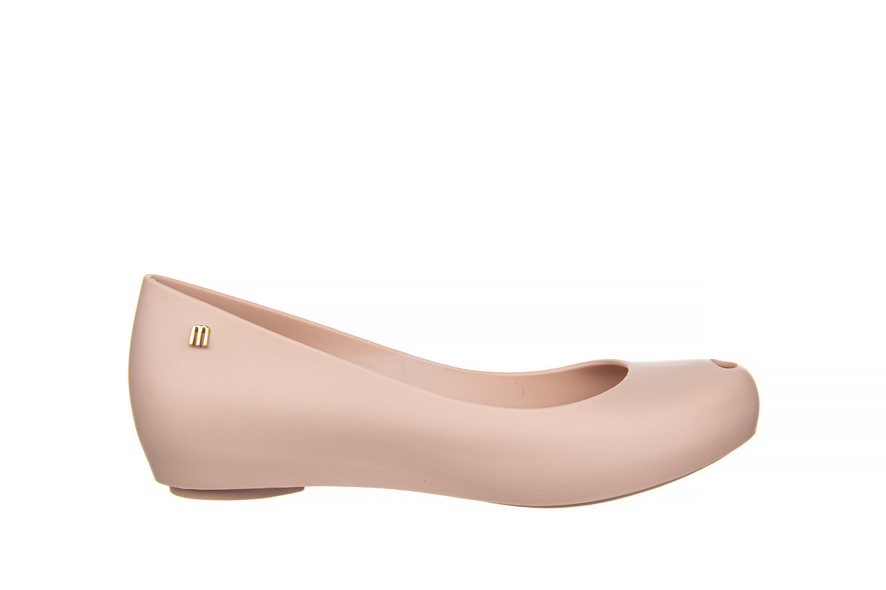 Baleriny melissa ultragirl basic ad light pink 21 010373, róż, guma  - gumowe - baleriny - buty damskie - kobieta 8