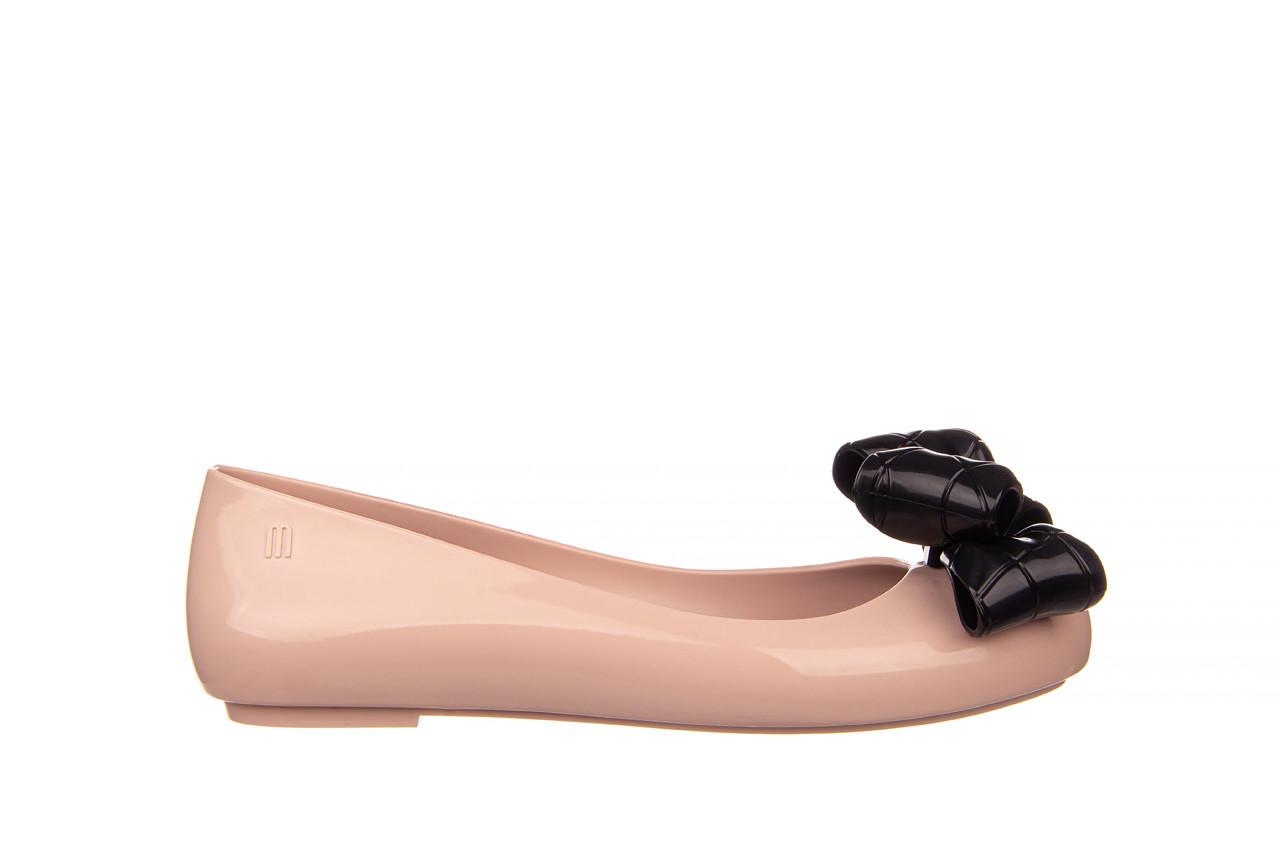 Baleriny melissa sweet love iv ad pink black 010371, róż, guma  - baleriny - melissa - nasze marki 8