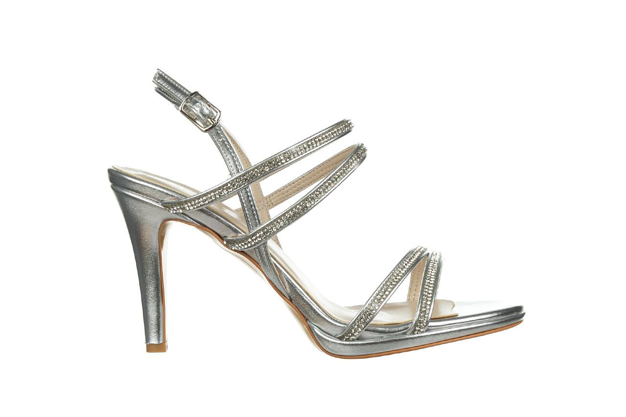 Sandały bayla-187 587-1120 silver 187016, srebro, skóra ekologiczna  - sandały - buty damskie - kobieta 7