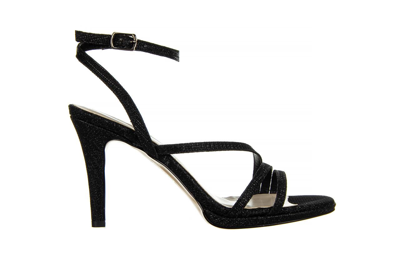 Sandały bayla-187 587-1115 black 187015, czarny, skóra ekologiczna  - sandały - buty damskie - kobieta 7