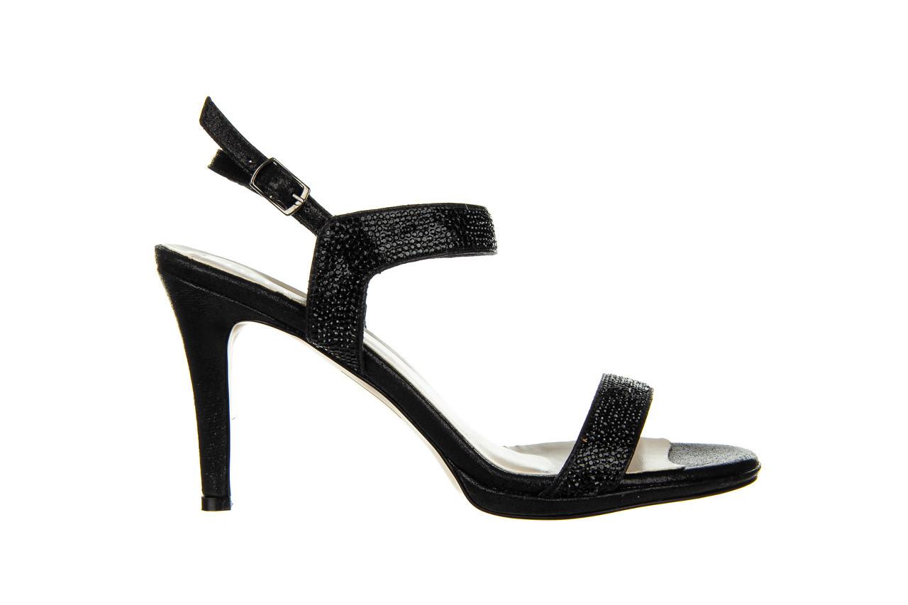 Sandały bayla-187 587-536 black 187019, czarny, skóra ekologiczna  - sandały - buty damskie - kobieta 7