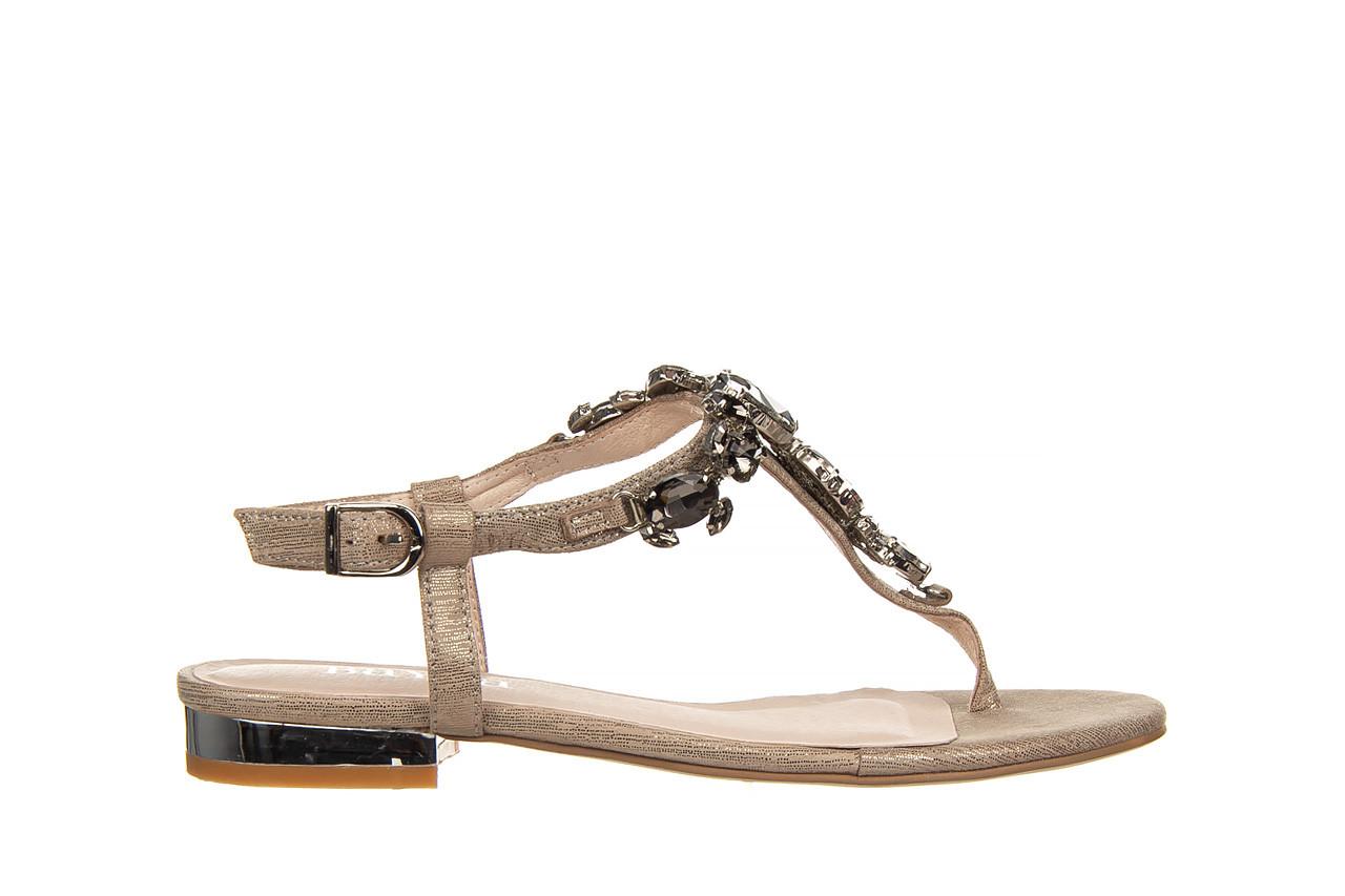 Sandały bayla-018 15472-x2 light grey, szary, skóra naturalna  - bayla - nasze marki 7