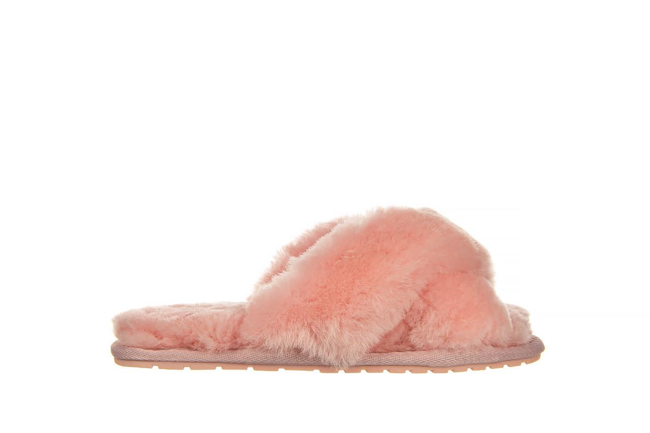 Kapcie emu mayberry baby pink 119132, róż, futro naturalne  - nowości 7