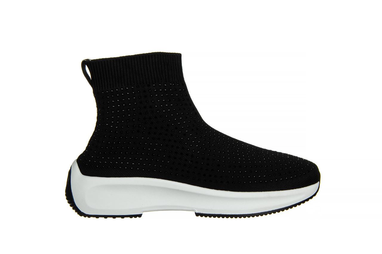 Sneakersy sca'viola l-15 black 047194, czarny, materiał - trendy - kobieta 8