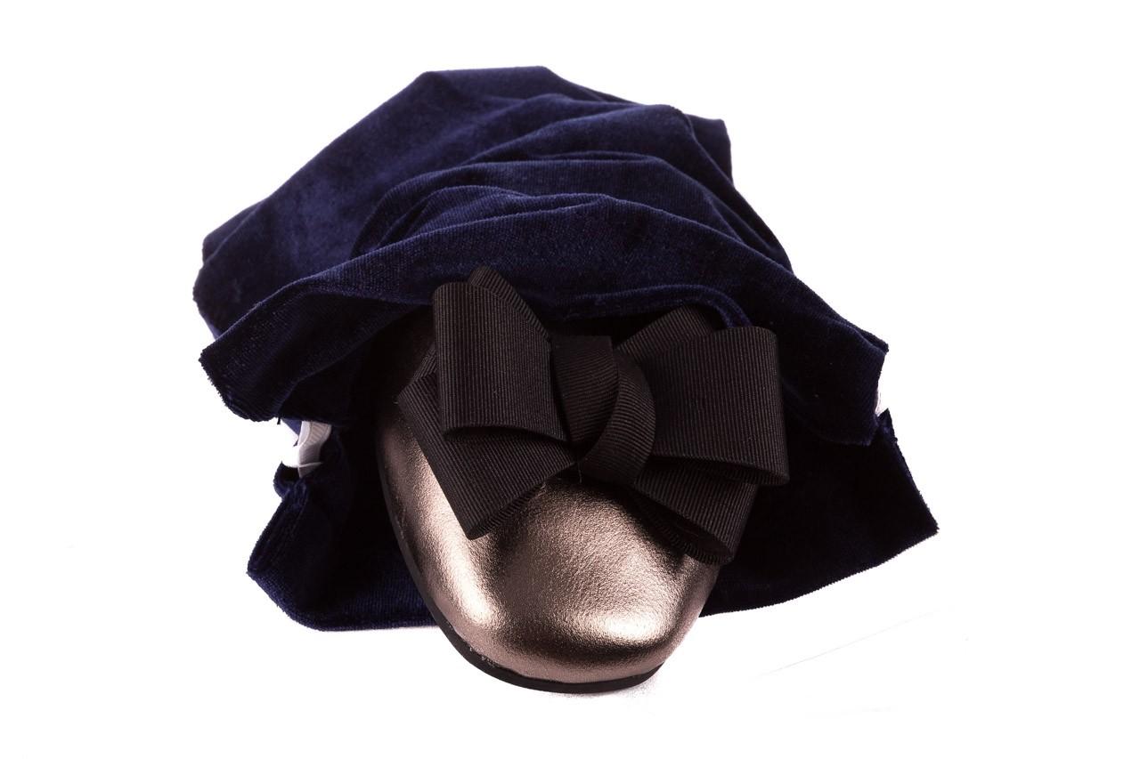 Baleriny viscala 11870.21 platynowy, skóra naturalna - skórzane - baleriny - buty damskie - kobieta 17