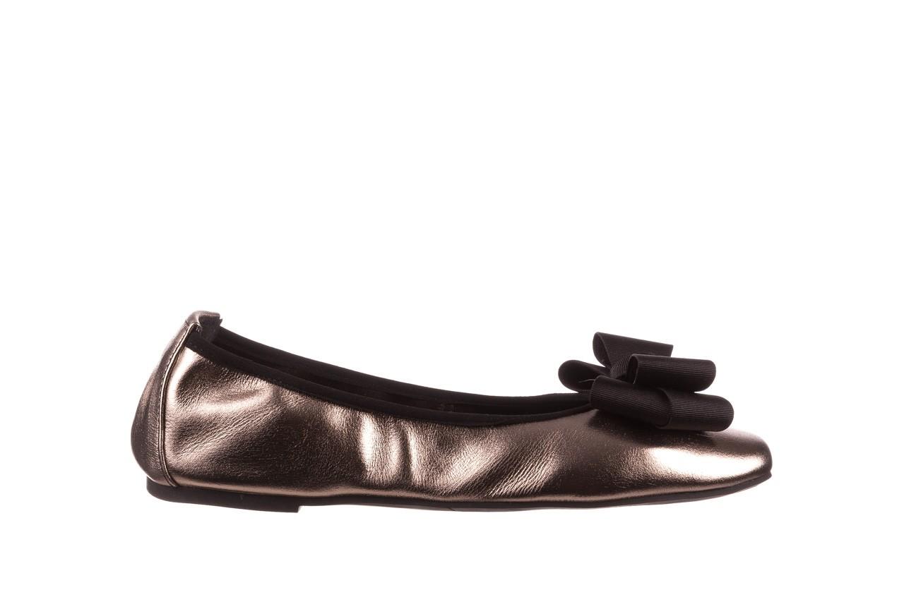 Baleriny viscala 11870.21 platynowy, skóra naturalna - skórzane - baleriny - buty damskie - kobieta 10