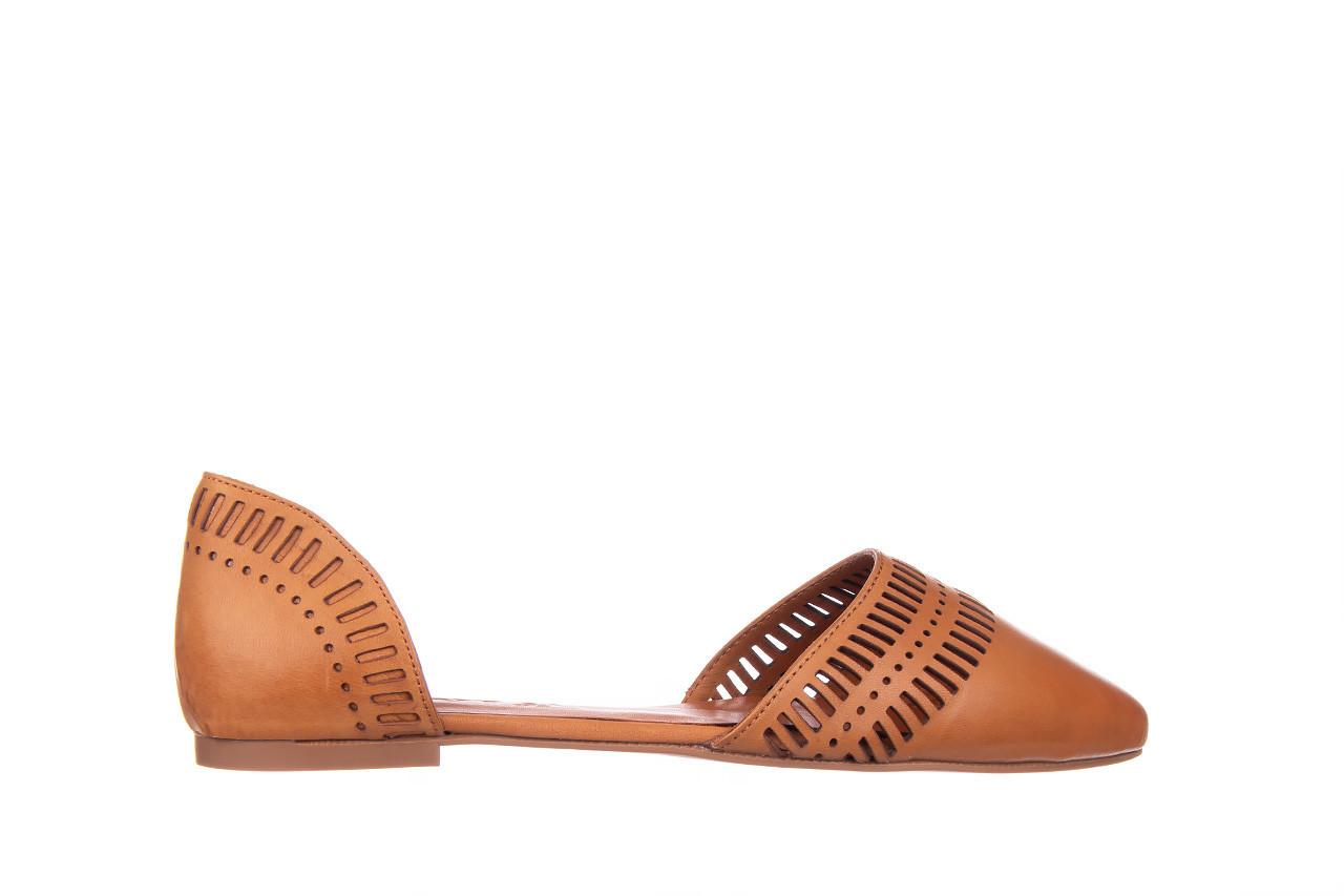Baleriny bayla-161 138 1102 coconut 161216, brąz, skóra naturalna  - skórzane - baleriny - buty damskie - kobieta 8