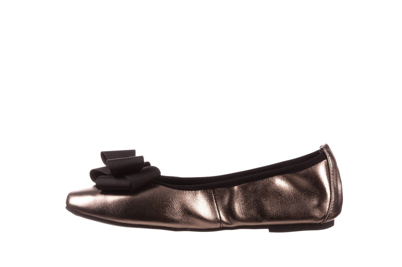 Baleriny viscala 11870.21 platynowy, skóra naturalna - skórzane - baleriny - buty damskie - kobieta 12