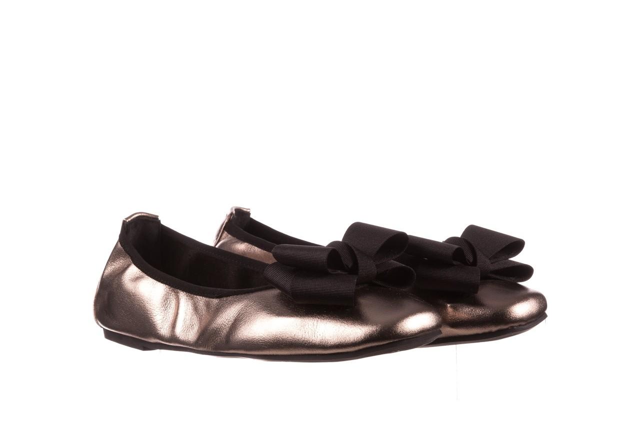 Baleriny viscala 11870.21 platynowy, skóra naturalna - skórzane - baleriny - buty damskie - kobieta 11