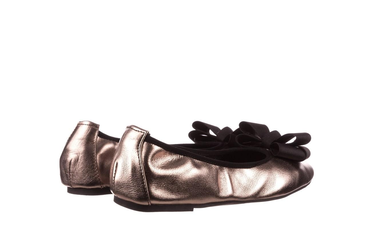 Baleriny viscala 11870.21 platynowy, skóra naturalna - skórzane - baleriny - buty damskie - kobieta 13