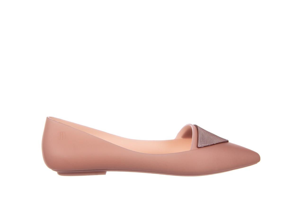 Baleriny melissa pointy iv ad pink 010349, róż, guma - kobieta 7