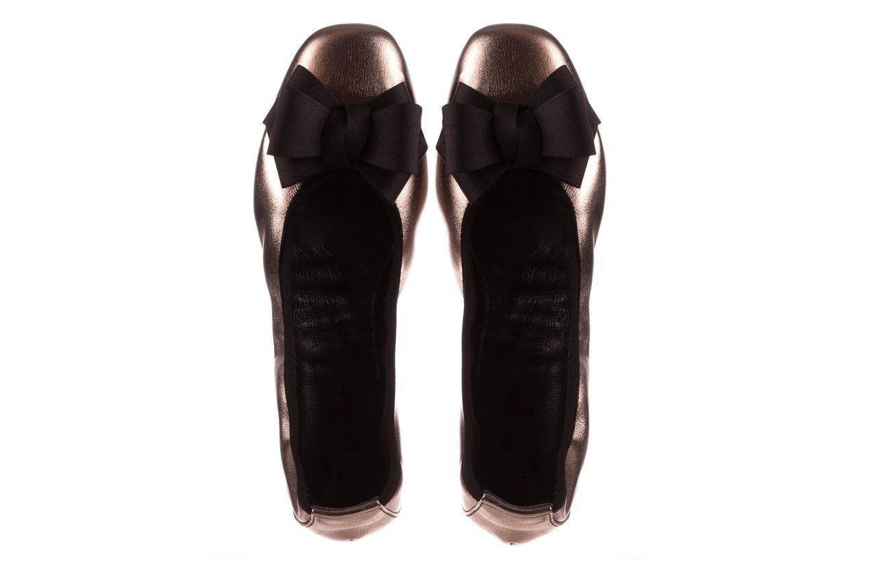 Baleriny viscala 11870.21 platynowy, skóra naturalna - skórzane - baleriny - buty damskie - kobieta 14