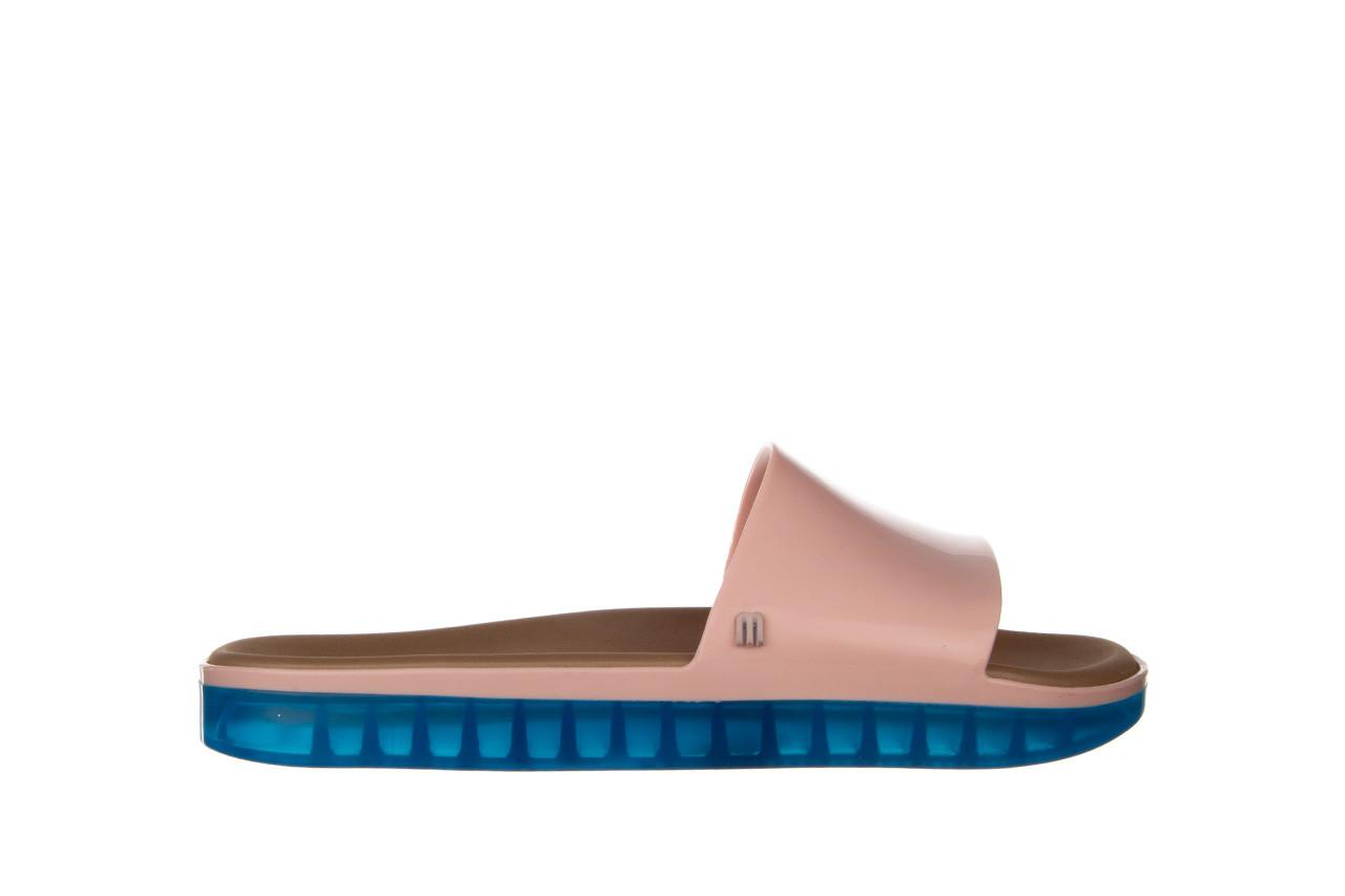 Klapki melissa beach slide next gen ad pink blue 010339, róż, guma - klapki - buty damskie - kobieta 7
