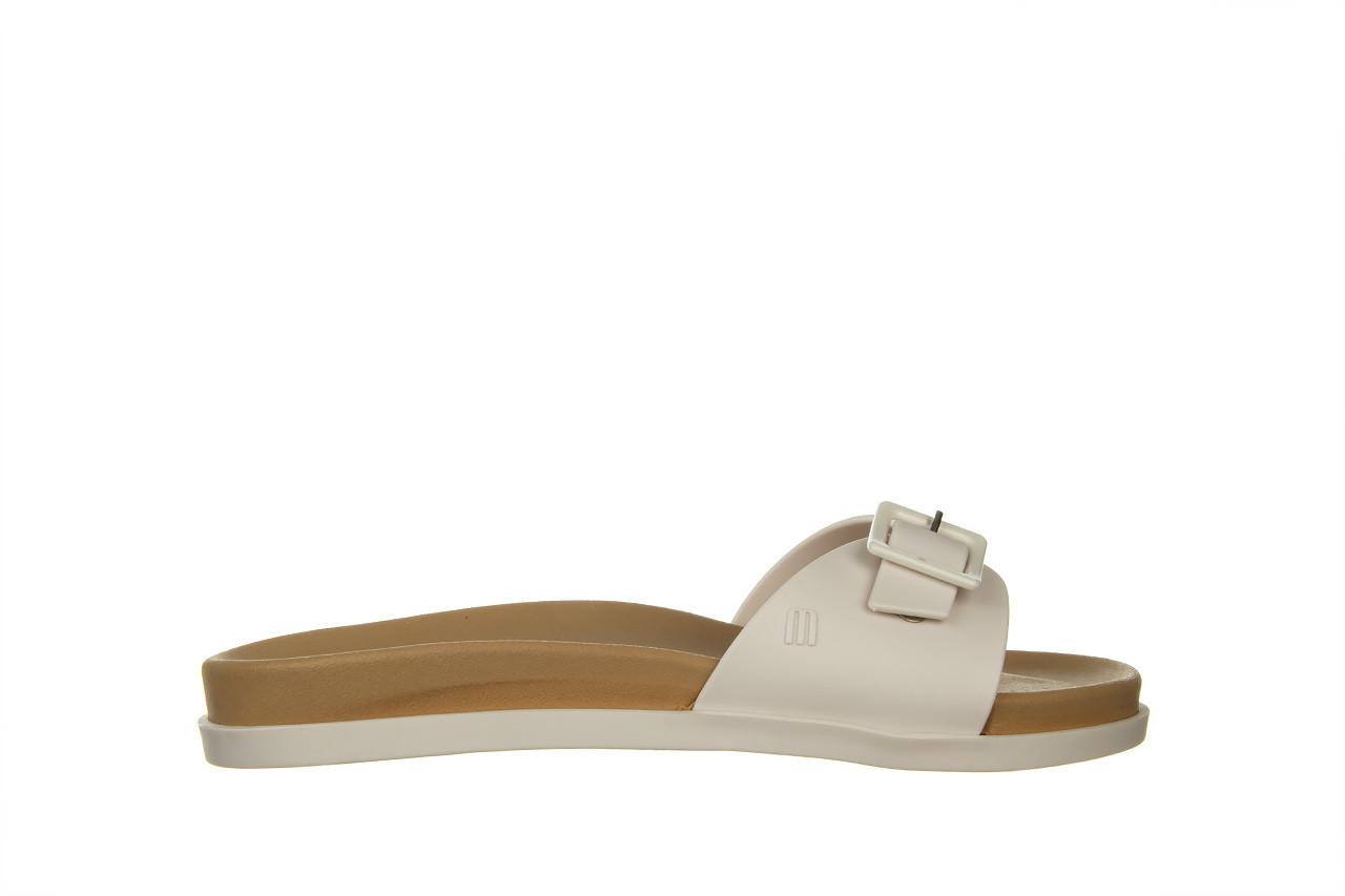 Klapki melissa wide slide ad white beige 010367, biały, guma - nowości 6