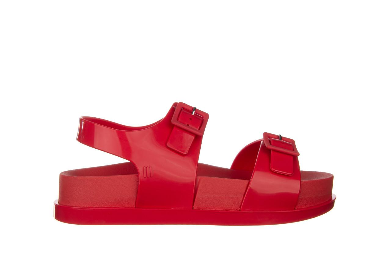 Sandały melissa wide platform ad red 010363, czerwony, guma - nowości 8