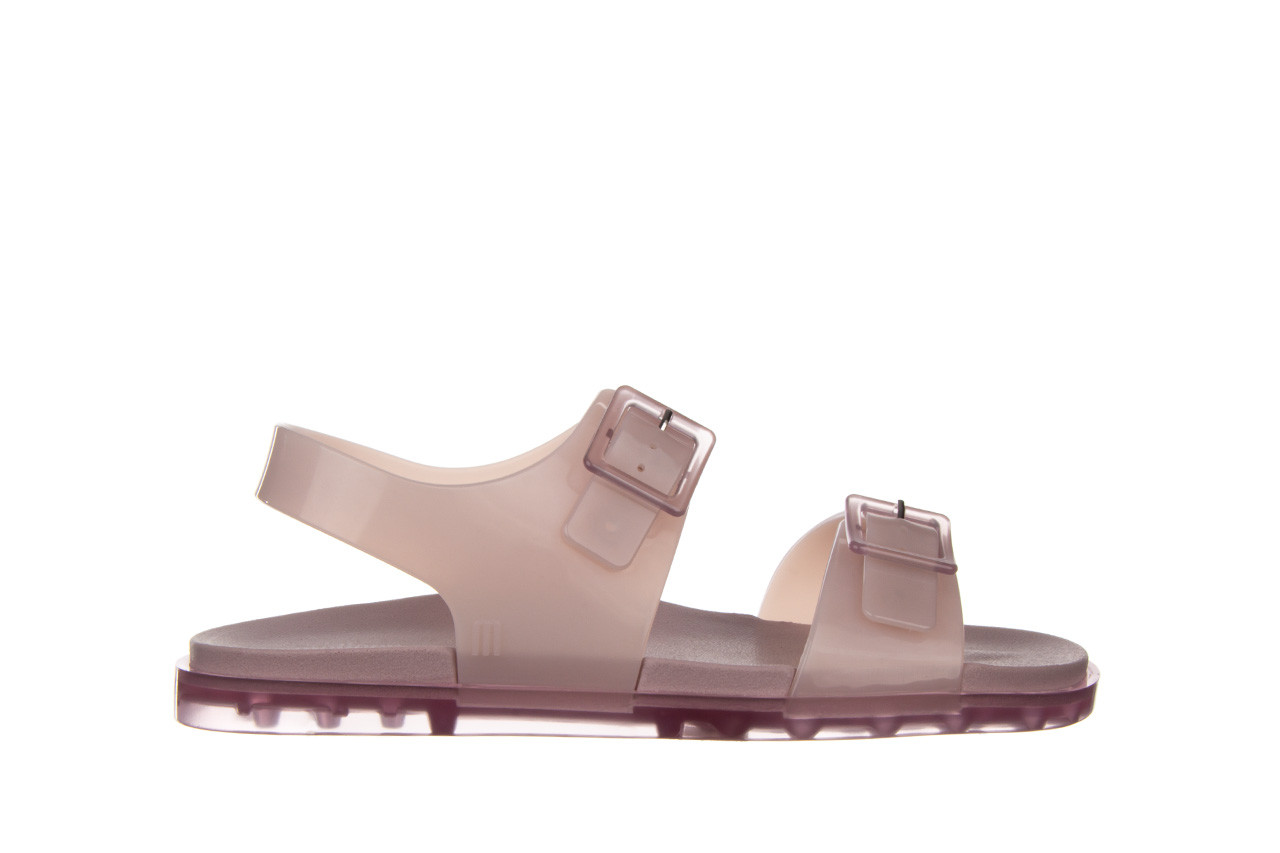 Sandały melissa wide sandal ad lilac 010359, fioletowy, guma - melissa - nasze marki 8