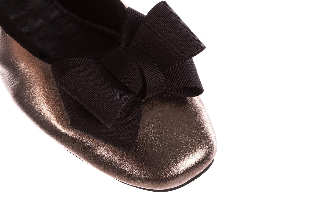 Baleriny viscala 11870.21 platynowy, skóra naturalna - skórzane - baleriny - buty damskie - kobieta 15