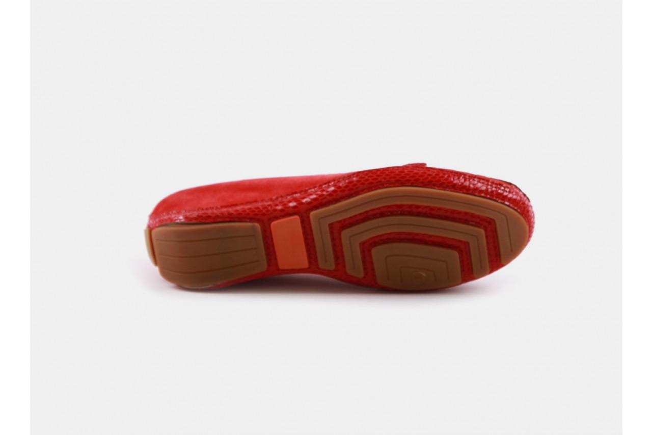 Bayla fl158-3 red kid suede snake - bayla - nasze marki 13