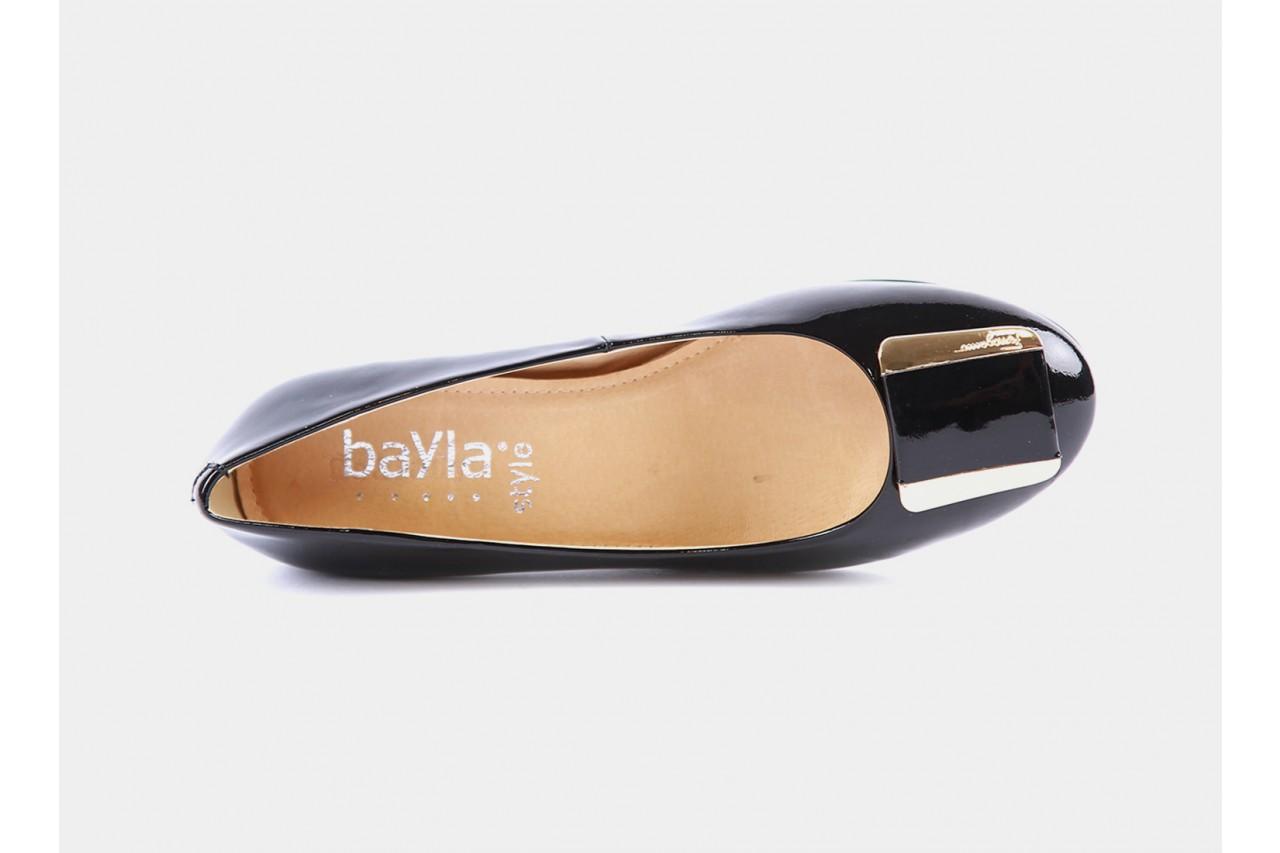Bayla 1238-39 black patent - bayla - nasze marki 10