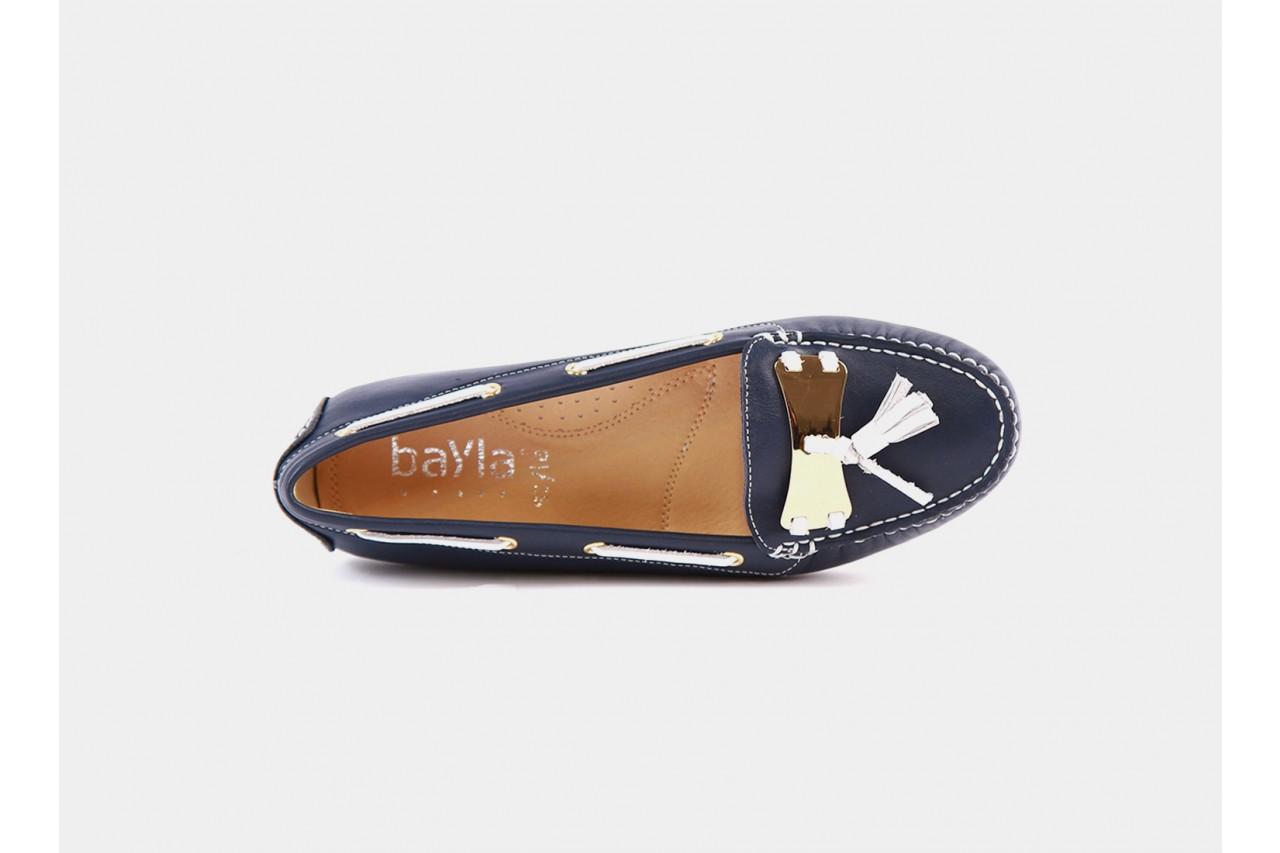 Bayla 317-77b navy white napa - bayla - nasze marki 8